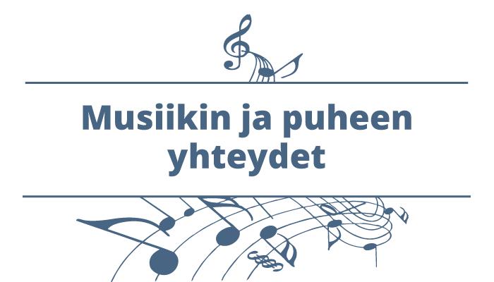 Musiikin ja puheen yhteydet